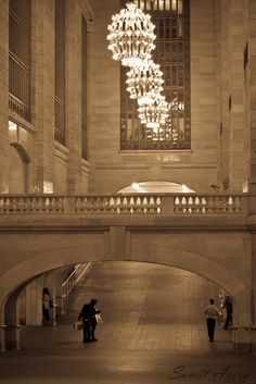 A rare moment when Grand Central Station is empty. Photo by Sumit Arora