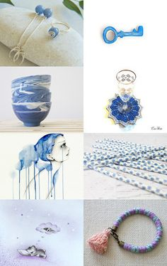 Dream in Blue by Gwen on Etsy--Pinned+with+TreasuryPin.com
