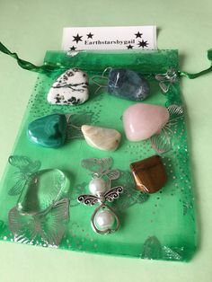 A personal favourite from my Etsy shop https://www.etsy.com/uk/listing/586848130/gardeners-crystals-set-7-crystals-to