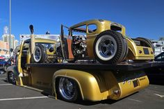 1953 FORD CAB-OVER FLATBED TRUCK - Rear 3/4 - 201881