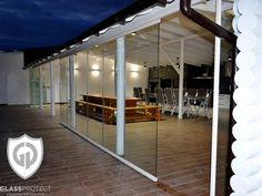 #closuresmadeofglass #glassterraces #decorationofglass #homeglass Glass Design, Basketball Court