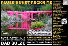 Kunst Offen 2014 | Kunst Offen – Fluss – Kunst – Inga Momsen