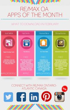 February Apps of the Month, brought to you by RE/MAX Ontario-Atlantic Canada