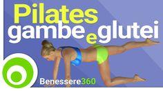 Pilates per Gambe Snelle e Glutei Alti e Sodi - Esercizi per Dimagrire e...