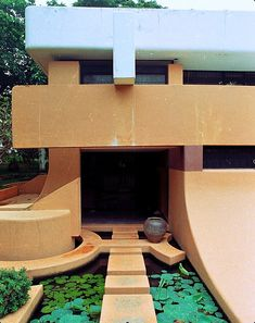 """Auroville (City of Dawn) is an """"experimental"""" township in Viluppuram district in South India. It was founded in 1968 by Mirra Alfassa (also known as """"The Mother"""") and princi…"""
