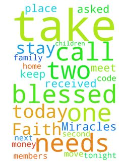 Please Keep your Faith in God!   Miracles do take place - Please Keep your Faith in God Miracles do take place everyday in our lives. Some to very small and some to great that your breath is taken away from you. Today, I had a big one. I have been praying to our Lord to help me with opening my Group Home for children. Like all of us, worried about money to meet next months bills. I received a telephone call from my tenant that wanted to move out two days before Christmas. He asked if he…