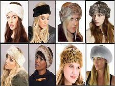 2013 Fashion Ladies Women's Winter Plush Faux Fur Headband Hat Ear Warmer