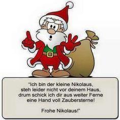 Euch allen einen schönen Nikolaus-Tag!
