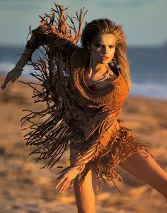 "Magdalena Frackowiak embraces the wild side of the female spirit in ""Born Free"" for Porter Magazine #9 [Fashion]"