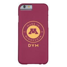#gold - #College Of Veterinary Medicine | Gold DVM Logo Barely There iPhone 6 Case