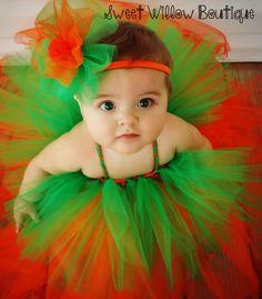 Pumpkin tutu. Halloween tutu. Pumpkin diy