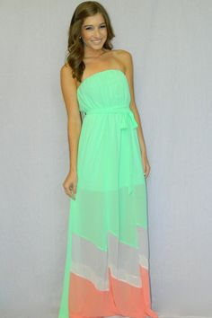 Twist of Lime Maxi Dress | Girly Girl Boutique