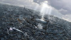 Coruscant in the daylight by Jean-François Liesenborghs   Sci-Fi   3D   CGSociety