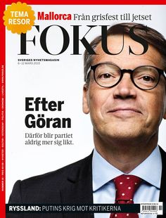Magazine Cover: Fokus (Sweden) Fokus 8-12 mars 2015 - Göran Hägglund