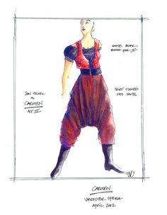 Costume design by Christime Reimer. Vancouver Bc Canada, Costume Design, Theatre, Opera, Sketch, Challenges, Costumes, Art, Sketch Drawing