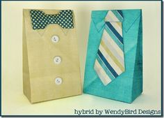 We love these Father's Day-themed treat bags #Father'sDay