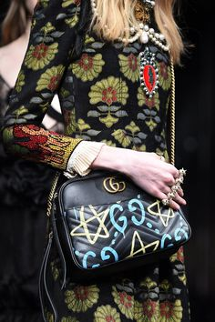 Fashion Girls Everywhere Will Want a Piece of Gucci's New Graffiti Collab