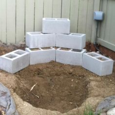 Backyard waterfall step one go to pincers name for completed steps