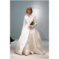 <3 Long Sleeved Taffeta Net Winter Wedding Dress