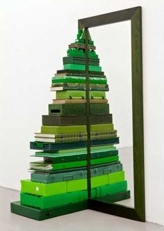 Unconventional Christmas Trees #holiday #no #tree #Christmas #tree #alternative #unconventional