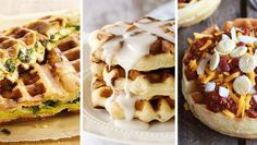 Check out all the amazing food you can make with your waffle iron!