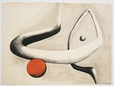 Alexander Calder, Untitled, 1932 on ArtStack Romulus And Remus, Alexander Calder, Kinetic Art, Paul Klee, Art Database, Art Abstrait, Watercolor And Ink, Art Studios, Foundation