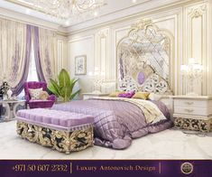 Luxurious Style Of The Bedroom Interior Design! Here you can find relaxation and harmony!Our consultants will answer for your questions shortly! - Architecture and Home Decor - Bedroom - Modern Bedroom Decor, Master Bedroom Design, Interior Design Living Room, Bedroom Ideas, Room Interior, Luxury Homes Interior, Luxury Home Decor, Cheap Home Decor, Bedroom Green