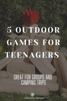 Check out our list of outdoor games for teens. These are all great ways to get your kids away from their tech, get outside more, and have fun with their friends and family. These are all fun games for picnics, backyard play, camping trips, and as a group at outdoor parties. List Of Outdoor Games, Outdoor Games For Teenagers, Games For Teens, Backyard Play, Backyard For Kids, Backyard Ideas, Outdoor Parties, Outdoor Fun, Camping Meal Planning
