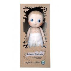 Rubens Ecobuds-en underbar ekologisk docka som passar från nyfödd och  uppåt! Levereras i eec75afacf7ba