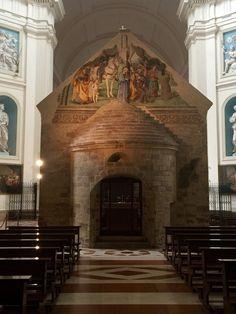 la chapelle de la Portioncule (Porziuncola) restaurée par San Francesco d'Assisi lui même