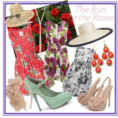 Kentucky Derby., created by theedeandrab on Polyvore