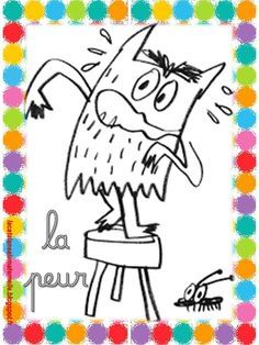 La Couleur Des Emotions Coloriage - From the thousands of images online with regards to La Couleur Des Emotions Coloria Les Sentiments, Education, Feelings, Projects, Arc, Albums, French Immersion, Halloween, Slime