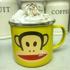 Now this is how you do hot chocolate! Sarah P. definitely knows how Julius takes his cocoa!