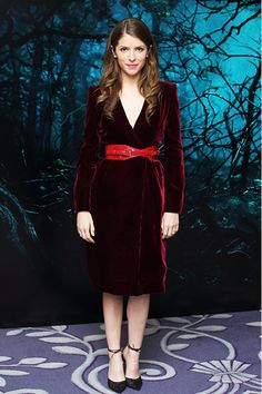 Anna Kendrick at the Into the Woods photocall