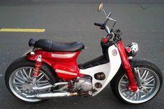 Honda Cub, C90 Honda, Australian Icons, Honda Bikes, Bobber Chopper, Moto Bike, Sport Bikes, Custom Bikes, Cubs