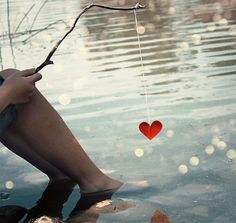 Image shared by Bi M. Find images and videos about love, heart and water on We Heart It - the app to get lost in what you love. I Love Heart, Heart Pics, Happy Heart, Crazy Heart, Heart Images, Heart Beat, Young Love, Gone Fishing, Fishing Poles