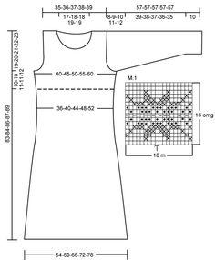 """DROPS 110-3 - DROPS kjole i """"Alpaca"""" og """"Fabel"""" med nordisk stjernebort. Str S - XXL. - Free pattern by DROPS Design"""