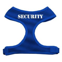 Security Design Soft Mesh Harnesses Blue Extra Large