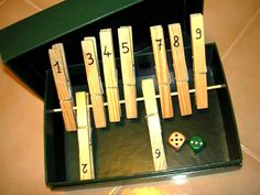 Pedagogia e didattica: un blog: Shut the box: un gioco educativo fai-da-te