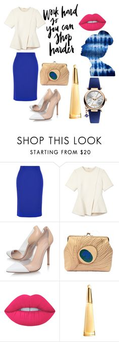 """""""Untitled #51"""" by ike-dyah-arianti ❤ liked on Polyvore featuring Alexander McQueen, Alexander Wang, Gianvito Rossi, Oliver Gal Artist Co., Lime Crime, Issey Miyake and Vivienne Westwood"""