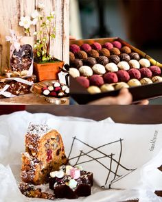 Petris chocolate Room sweets for Christmas, from my own blog Niinan unelmia