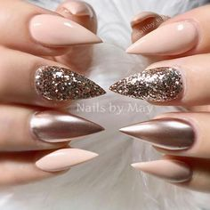 Popular Stiletto Nails Designs from Pinterest That Will Catch Your Mind ★ See more: https://naildesignsjournal.com/popular-stiletto-nails-art-designs/ #nails