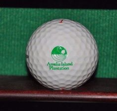 Vintage Amelia Island Plantation Resort logo golf ball. Excellent Condition Ball is in excellent condition. The ball pictured is the ball for sale.