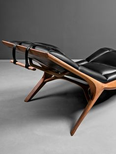 Buy online Insekt By hookl und stool, upholstered leather chaise longue design Aleksandar Ugresic Plumbing Pipe Furniture, Plywood Furniture, Dining Furniture, Custom Furniture, Furniture Design, Modern Furniture, Wood Facade, Lounge Chair Design, Lounge Chairs