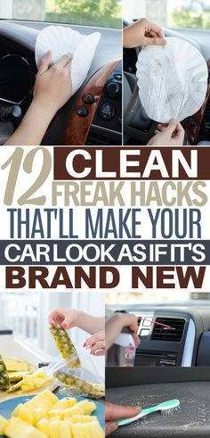 Car Cleaning Hacks, Household Cleaning Tips, Car Hacks, House Cleaning Tips, Diy Cleaning Products, Spring Cleaning, Cleaning Wood, Cleaning Solutions, Deep Cleaning