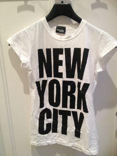 Tee shirt blanc NYC / vêtements / mode