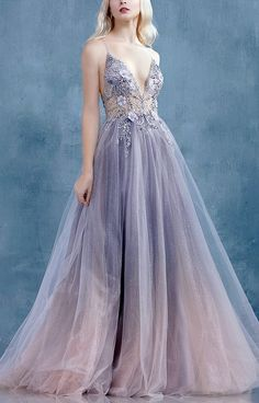 she was the heir of ash and fire — evermore-fashion: Andrea & Leo. Pretty Prom Dresses, 15 Dresses, Ball Dresses, Elegant Dresses, Ball Gowns, Formal Dresses, Fairytale Dress, Fairy Prom Dress, Tulle Prom Dress