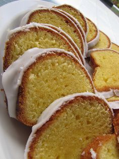 Starbuck's Lemon Loaf... This blogger knows whats missing from the other recipes... flavor, density and moistness..... I can't wait to try it.