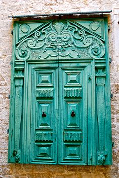 Sibenik, Croatia - a beauty Cool Doors, Unique Doors, Stairs Window, Doorway, Doors Galore, Door Knockers, Door Knobs, When One Door Closes, Entrance Doors