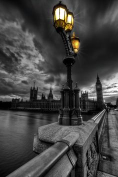 color - The Palace of Westminster with Elizabeth Tower (Big Ben), London Splash Photography, Hdr Photography, Black And White Photography, Contrast Photography, Building Photography, Amazing Photography, Color Splash, Color Pop, Beautiful London